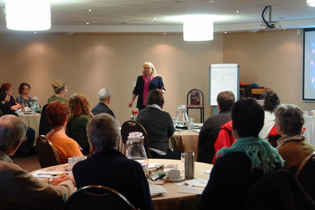 Karin Davidson teaching Matrix Reimprinting